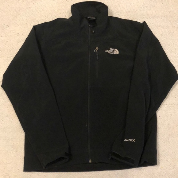 North face apex jacket size small men's